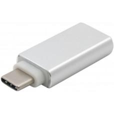 Адаптер Extradigital USB 3.0 AF - USB Type C, SuperSpeed, Aluminium